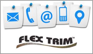 contact flex trim